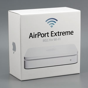 Беспроводной двухдиапазонный гигабитный маршрутизатор Apple AirPort Extreme A1143